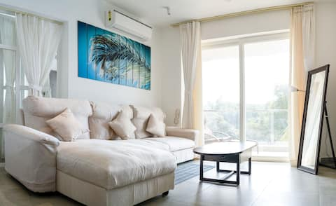 1BHK 2bed Greenview Luxury apartment at Calangute