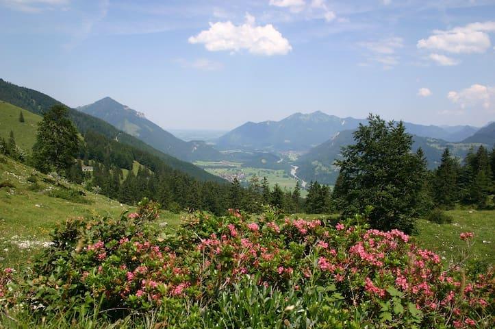 Berge im Achental (Chiemgau)