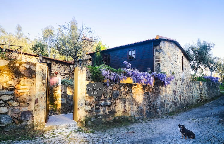 O Sítio de Zés, num dos socalcos do rio Douro - Pedorido - Casa de férias