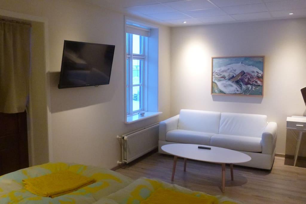 Sleeping sofa 140x200 cm