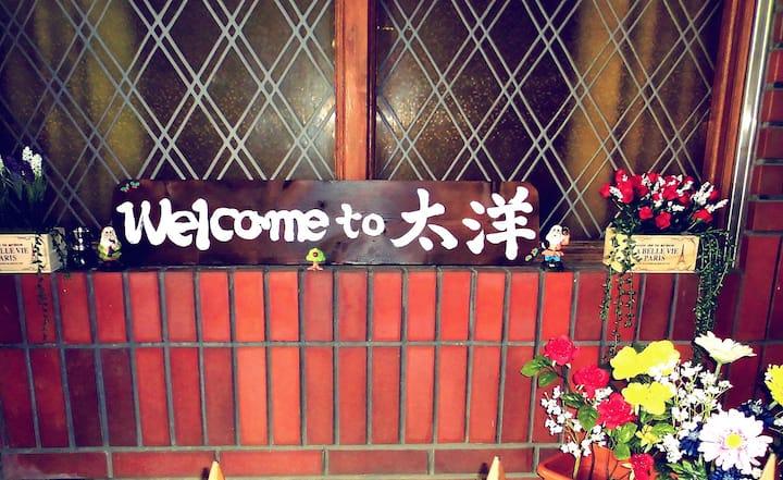 오사카 호텔 타이요 싱글룸 최고의 위치!