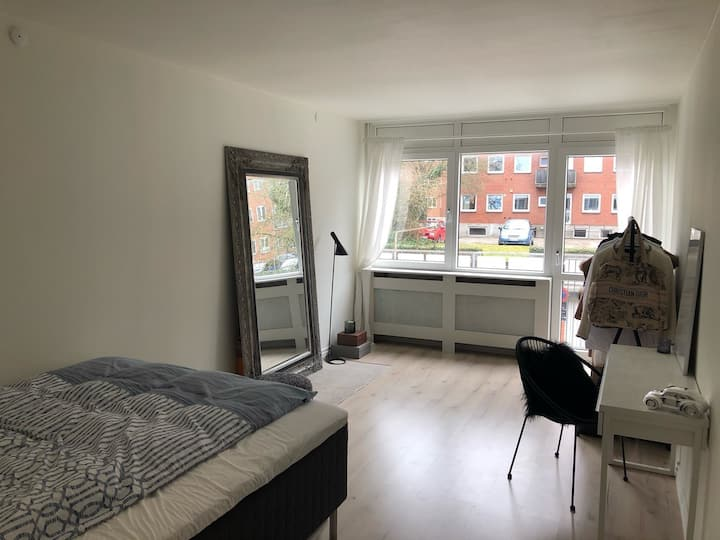 Newly renovated apartment with free parking