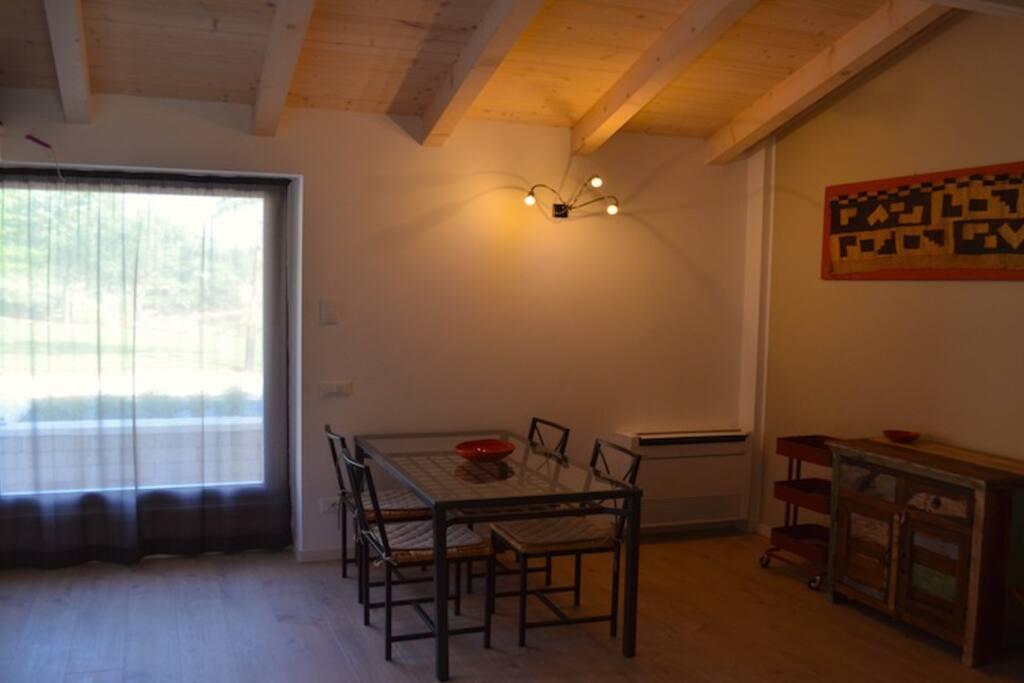 Living appartamento Ruwenzori