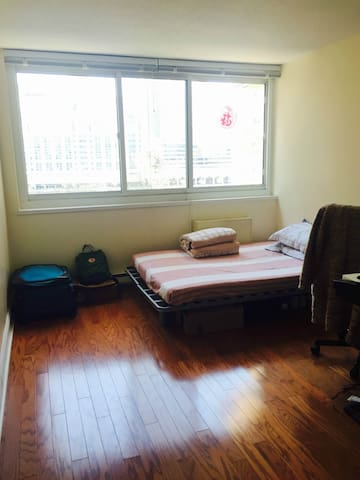 One nice room on the Roosevelt Island; 罗岛一间卧室出租