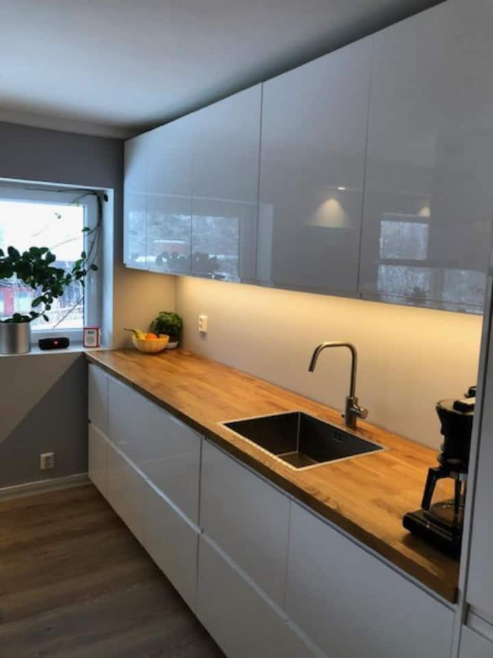 Lys og rolig leiligheten på Nordstrand