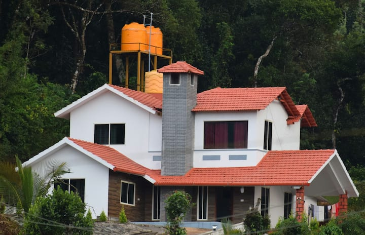 Best Villa at a serene location in Madikeri-Coorg.