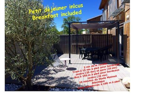 Chambre single + petit déjeuner - Blanquefort