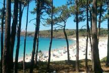 Playa de Melide, en Cabo Home, paraíso natural