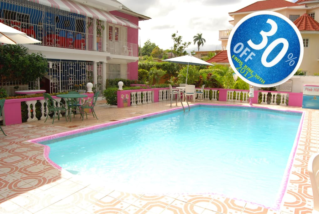 Pink Hibiscus Villa Private Pool Villas For Rent In