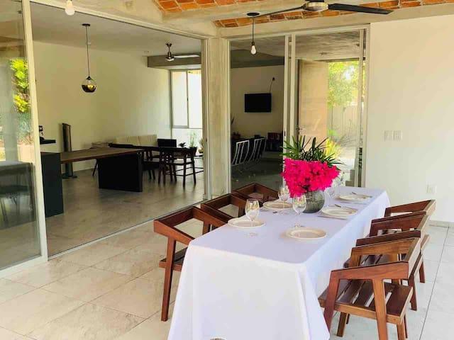 Casa contemporánea chiapaneca