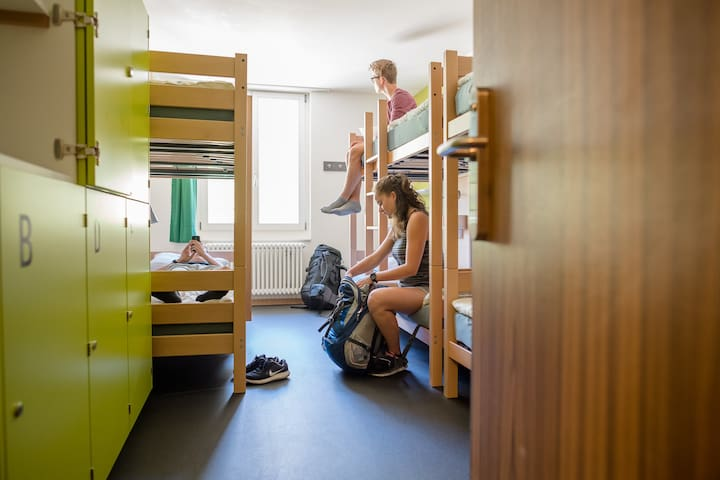 beds in shared Eco  6-bed mixed dormitory