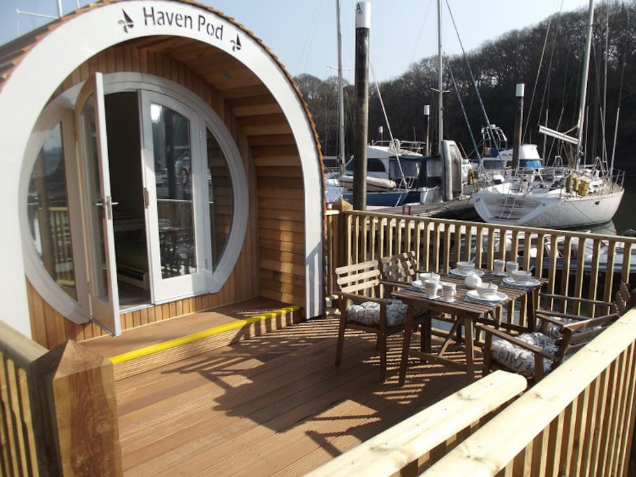 The Haven Pod at Neyland Yacht Haven