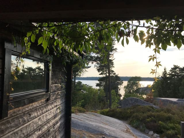 All seasons Stockholm archipelago cabin!