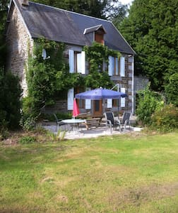 Cosy well equipped farmhouse - Brécey - Kabin