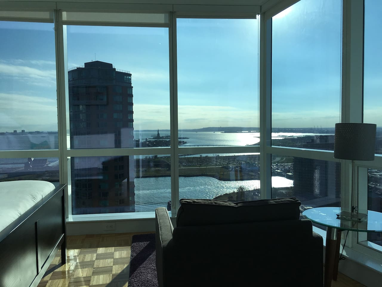Premium One Bedroom Apartment Has Stunning View That Provides A Serene Yet Sensational Balance. Sit Here While The Sun Is Setting And You're in For A Treat
