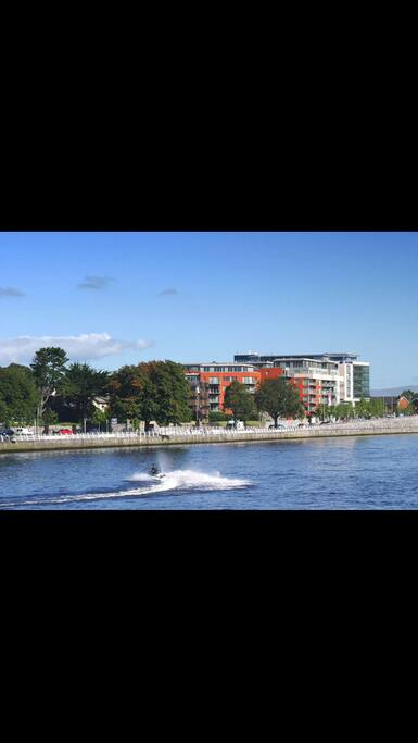 Views of the river Shannon.