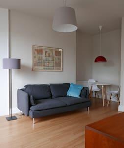 Newly renovated bright apartment in west Edinburgh - Edimburgo - Appartamento