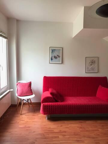 Chambre n°4 avec lit clic-clac