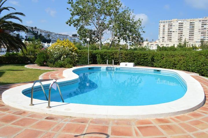 Haus mit 2 Schlafzimmern in Benalmádena mit Pool, möblierter Terrasse und W-LAN