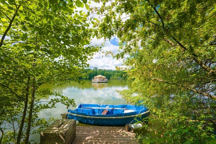 Cabane Corail pour 2 personnes - Chassey-lès-Montbozon