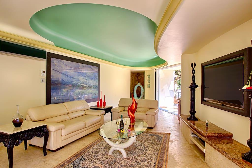 Bedroom living room