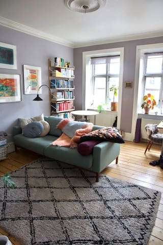 Cozy and charming apt in the heart of the Cph.