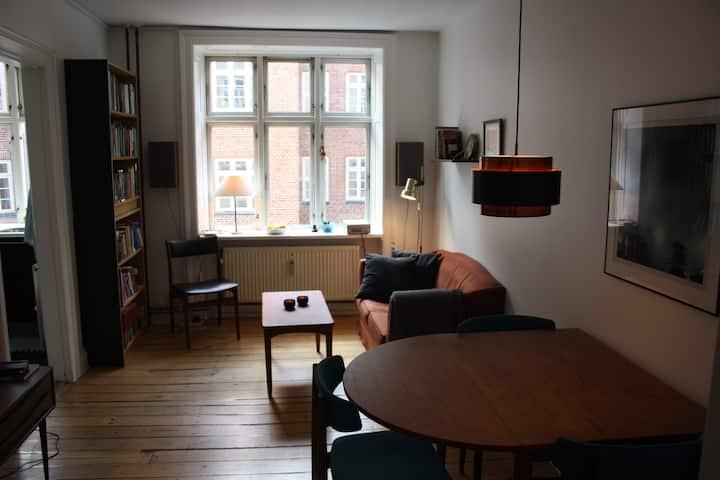 Cozy flat in central Vesterbro