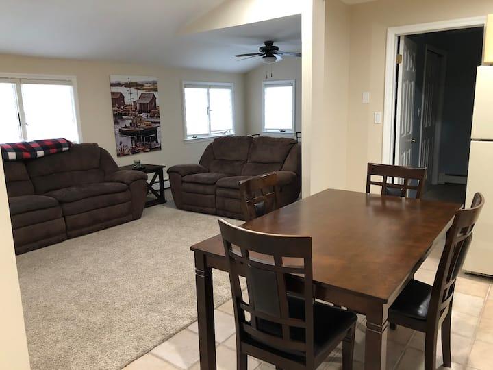 Quiet and Clean second floor apartment