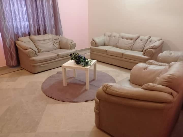 Furnished home on ground floor, peacefull location