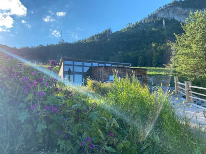Luxe Glamping chalet 'Arnica' in Tirol