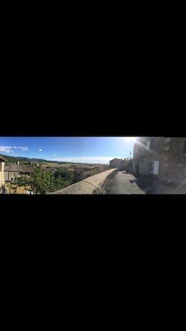 villa perchée au plus haut de la Drome - Puy-Saint-Martin