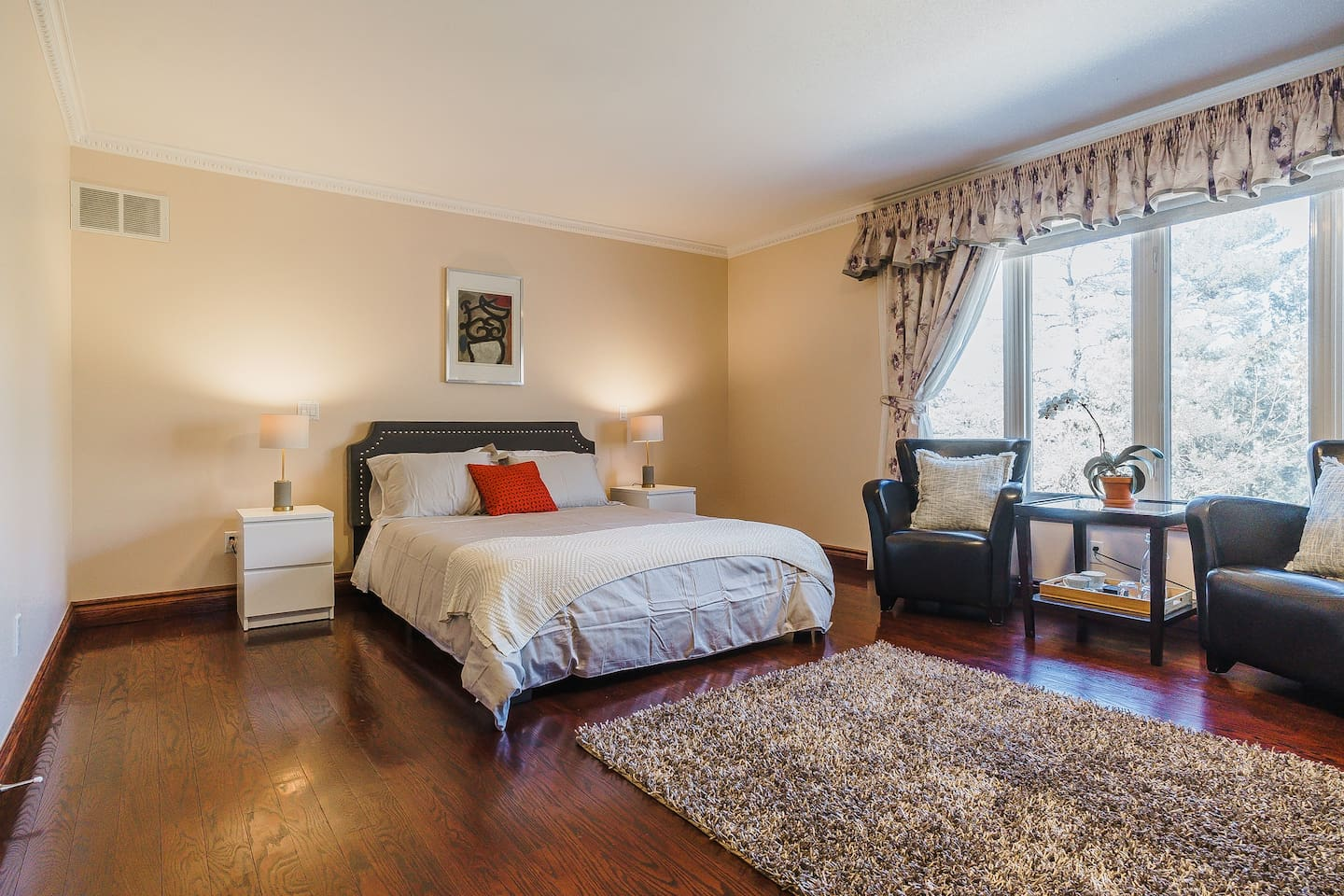 Premium Master Suite. Huge airy suite to kick back and relax.
