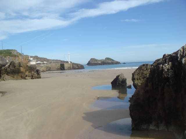 Playa Palombina, a 7 mnts a pie del alojamiento