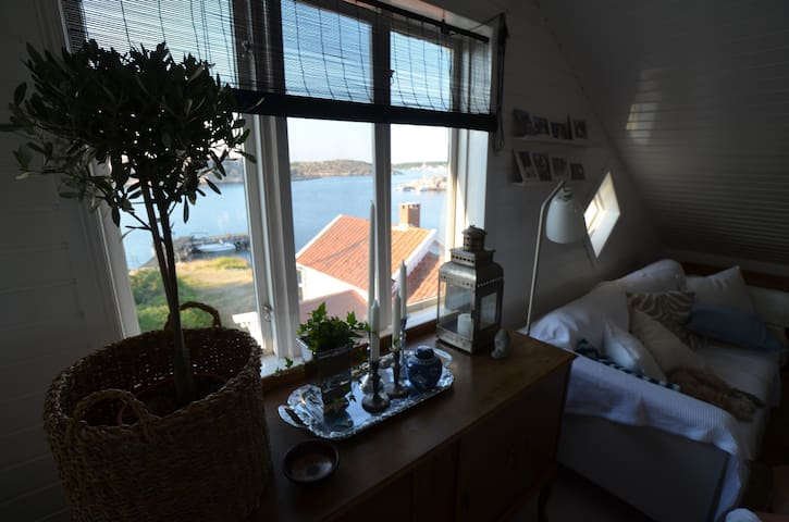 Perfekt läge med havet som granne - Resö V - Appartement