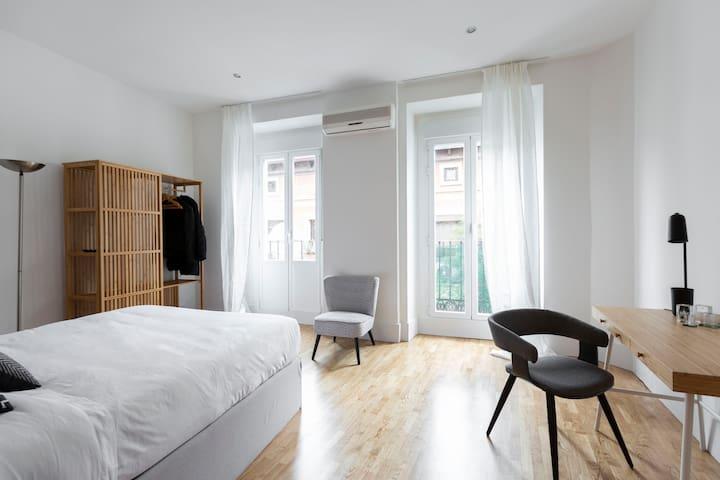 Suite Doble con 2 balcones privados