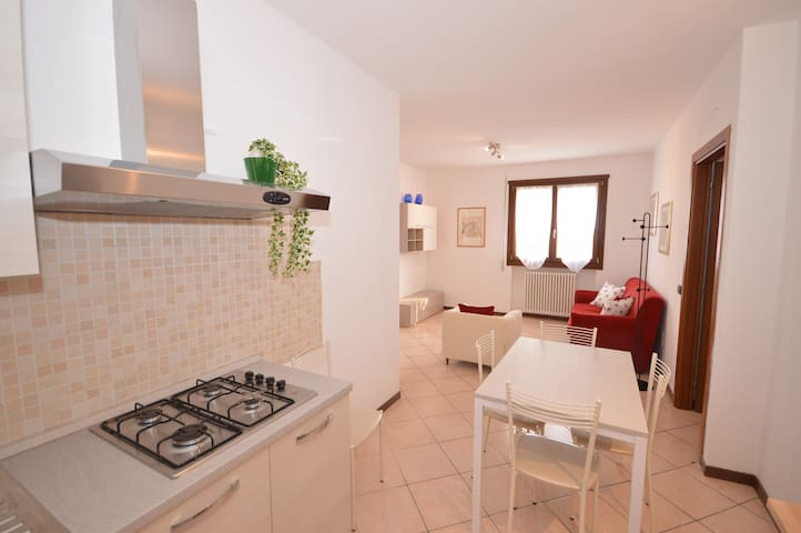 Comfortable two bedrooms apartment 5 single beds - Montecchio Maggiore-Alte Ceccato - Wohnung