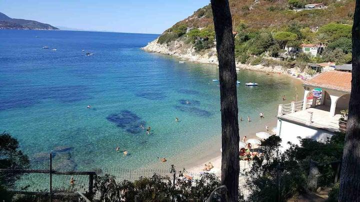 Un giardino sul mare/spiaggia del Forno
