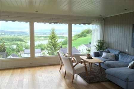 Private room in villa near Oslo - Raelingen - 别墅