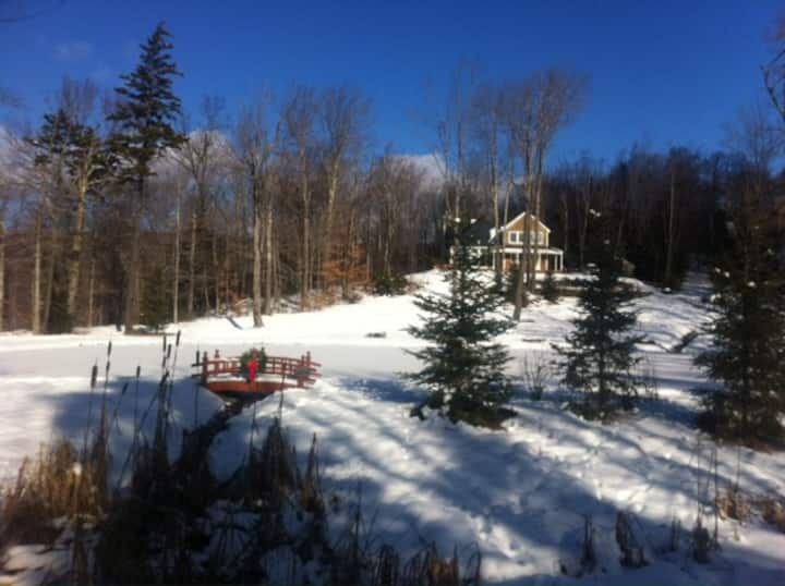 Winter Wonderland Beckons in Southern VT