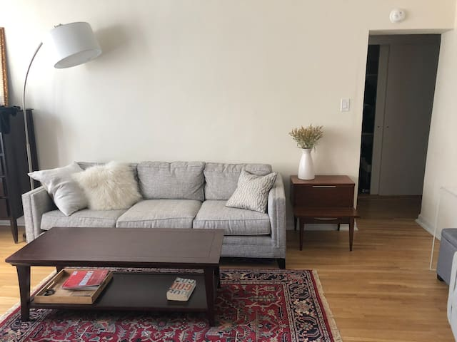 Charming sunny studio in the heart of the Village!