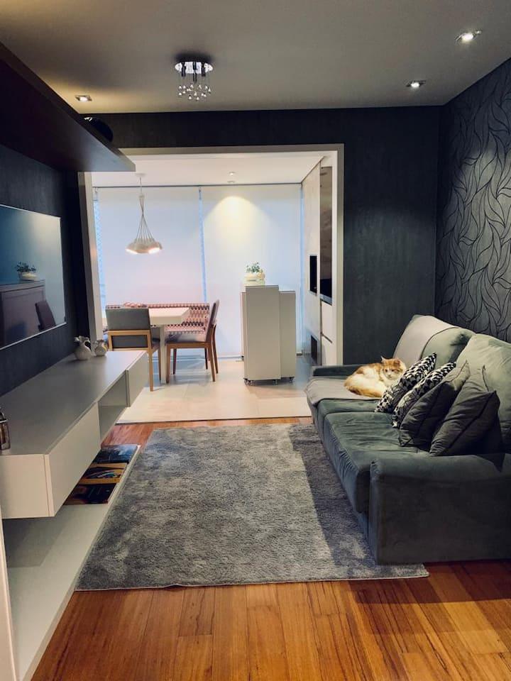 Apartamento lindo para se hospedar | Valor mensal