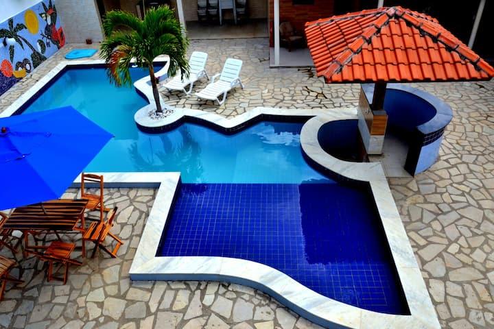 Casa Jacuma/ Tabatinga ( 5 quartos)