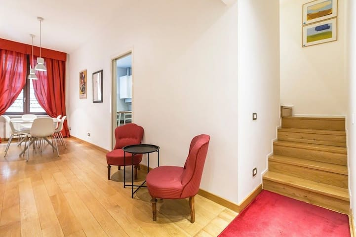 Modern Penthouse on two floors near the Duomo - Milano - Apartment