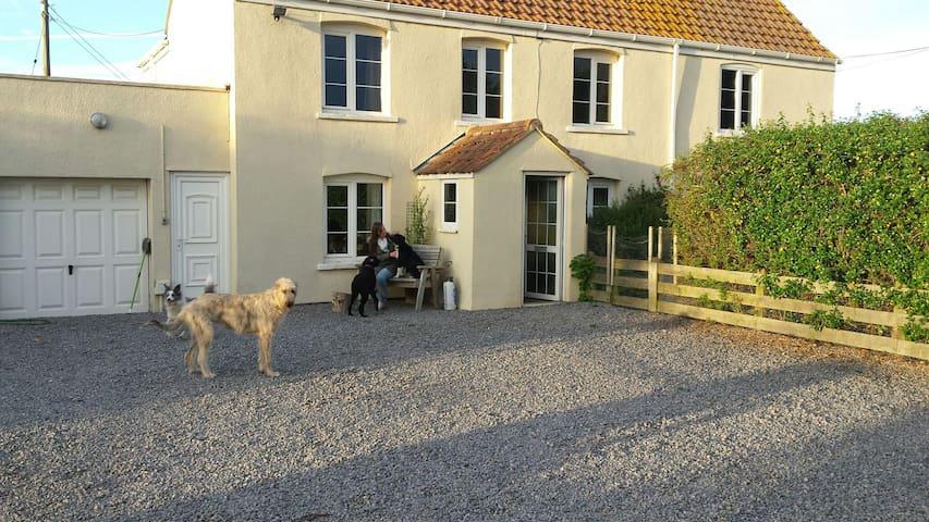 Private room  country house near M5 - Kewstoke - Casa