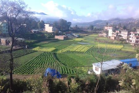 Historical/Typical Newari village
