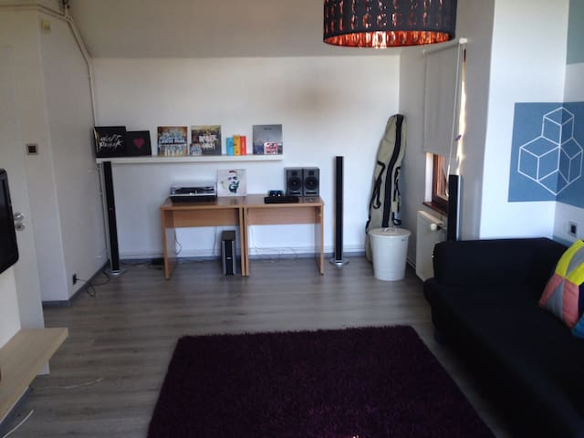 Modern, spacious apartment in Buda, great location