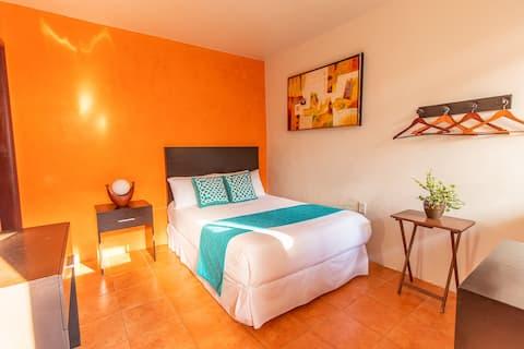 Habitación sencilla 2 personas. Hotel Doña Juana