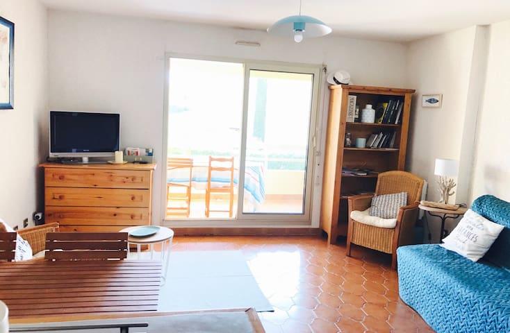 Beau T2  accès direct mer plage Argentière