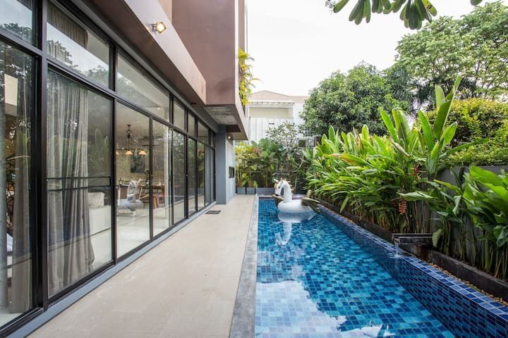 ❤️Luxury Pool Villa_600 sq.m. @Thonglor_Sukhumvit