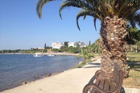 amazing sea front property Altinkum - Mavişehir Mahallesi - Lägenhet